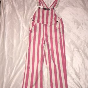 Youth Small Games Bibs Striped Overall Bibs